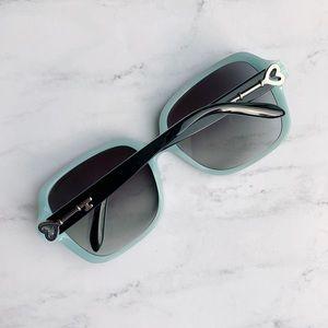 🕶 Tiffany & Co Silver Heart Key Sunglasses